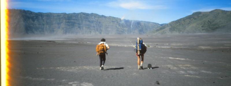 Plains, Strains & Automobiles – Crossing Mt Bromo