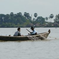 By boat from Mawlamyine to Hpa An
